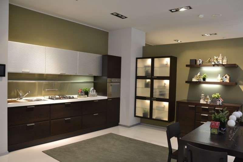 e soggiorno open space - salotto con cucina - Ambiente Unico Cucina Soggiorno Foto