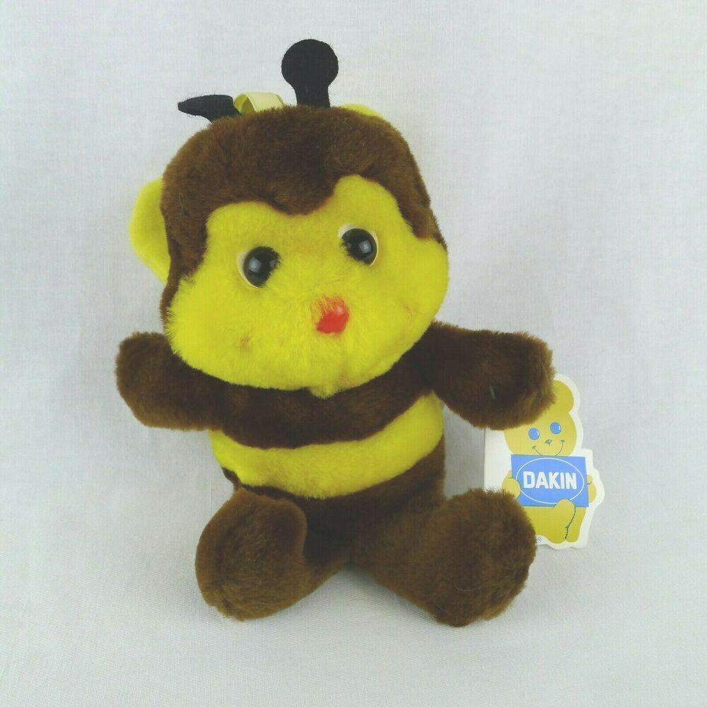 Surprising R Dakin Bumble Bee Bean Bag Plush Toy 6 Inch Buzzbee 1980 Forskolin Free Trial Chair Design Images Forskolin Free Trialorg
