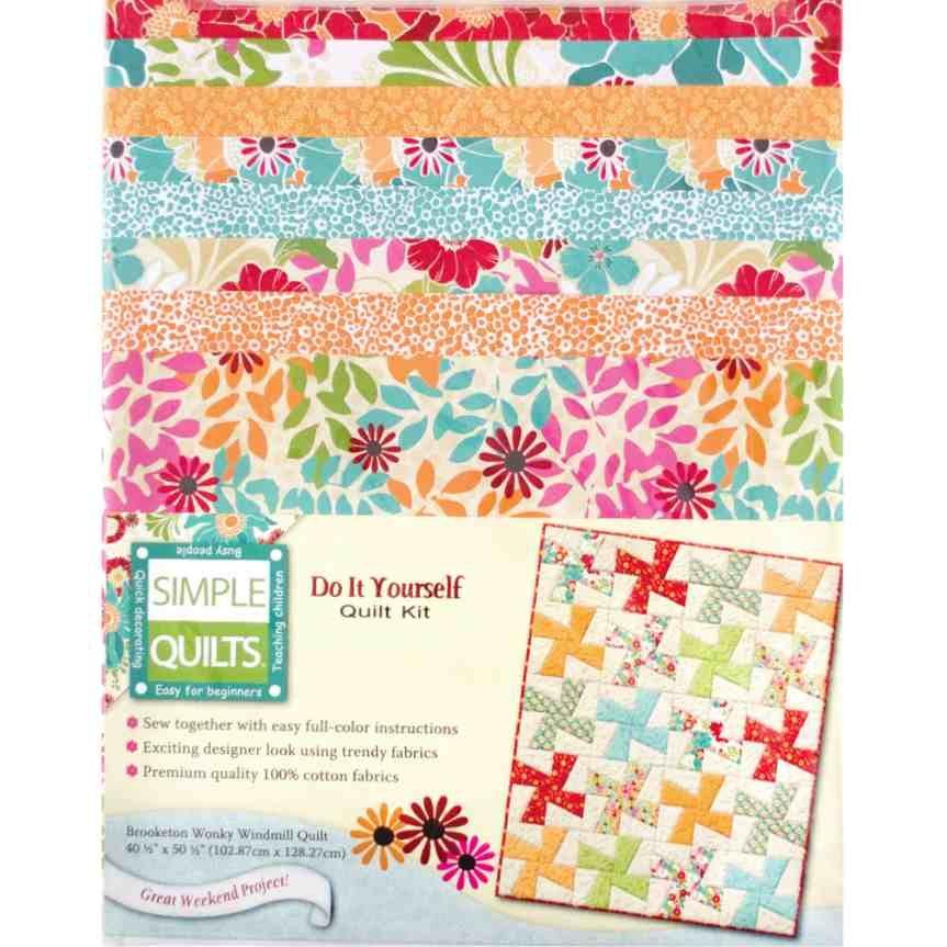 Beginner quilt kit simple quilts brooketon quilt kits from beginner quilt kit simple quilts brooketon solutioingenieria Images
