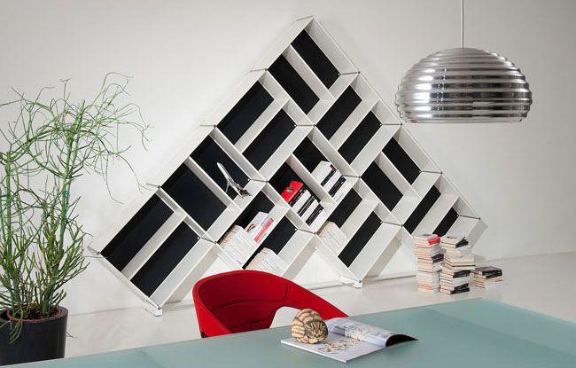 Librerie bianche librerie componibili alluminio fitting