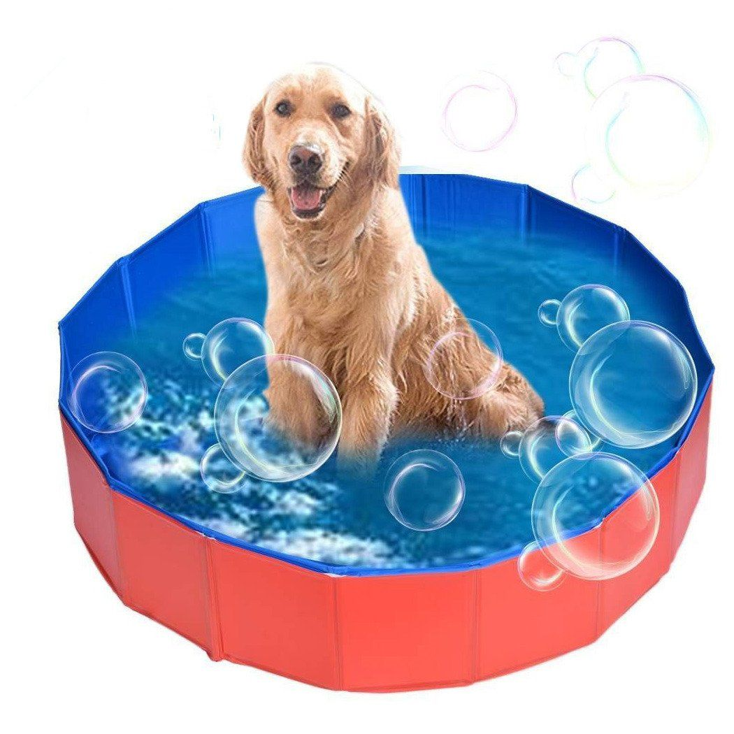 Acezone Collapsible Dog Bathtub Pet Bathing Tub Cats Dogs Swimming