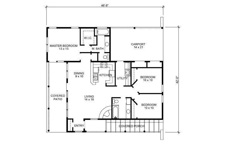 Southwest Style House Plan 69773 With 3 Bed 3 Bath 3 Car Garage Best House Plans Pueblo Style House Dream House Plans