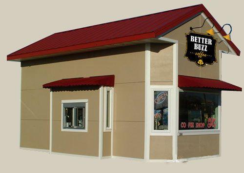 Espresso Stand Designs : Coffee shop design drive thru building