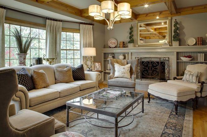 Long Fireplace Mantel Decor