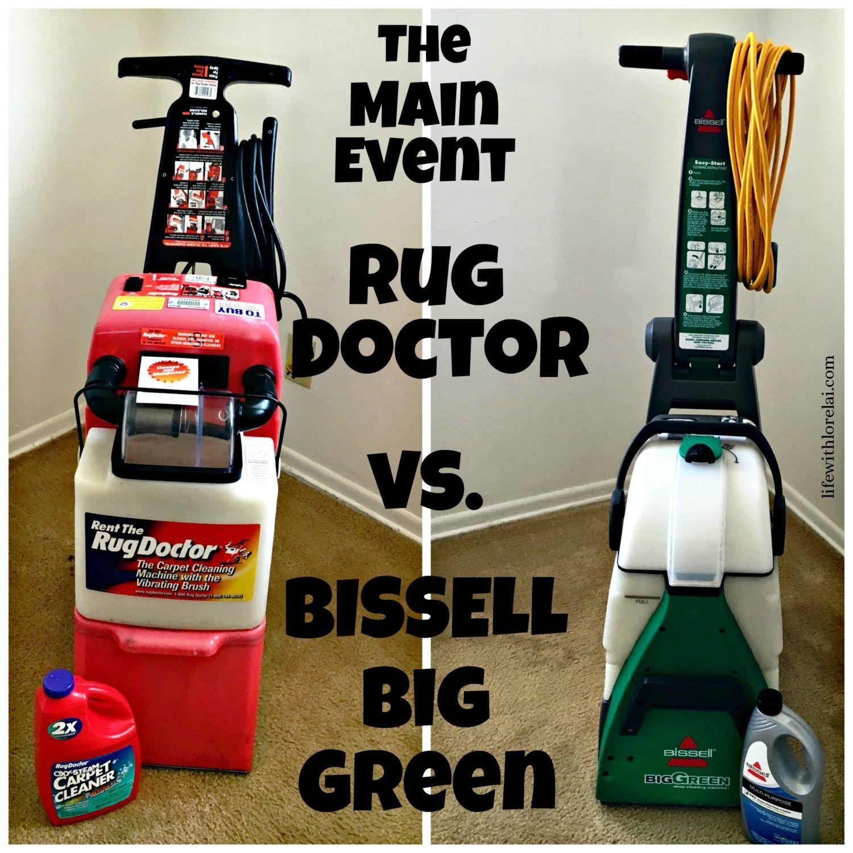 Carpet Cleaner BISSELL vs. Rug Doctor Rug doctor, Diy