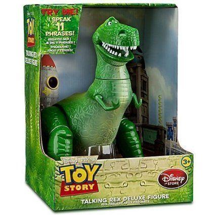 Disney//Pixar Toy Story Talking Rex Free Shipping