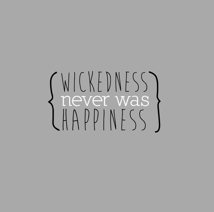 """Dangerously Misunderstanding The Phrase, """"Wickedness Never"""