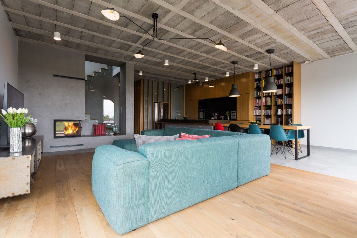 House In Sieros Aw By Mode Lina Architekci 2 House House Colors Interior