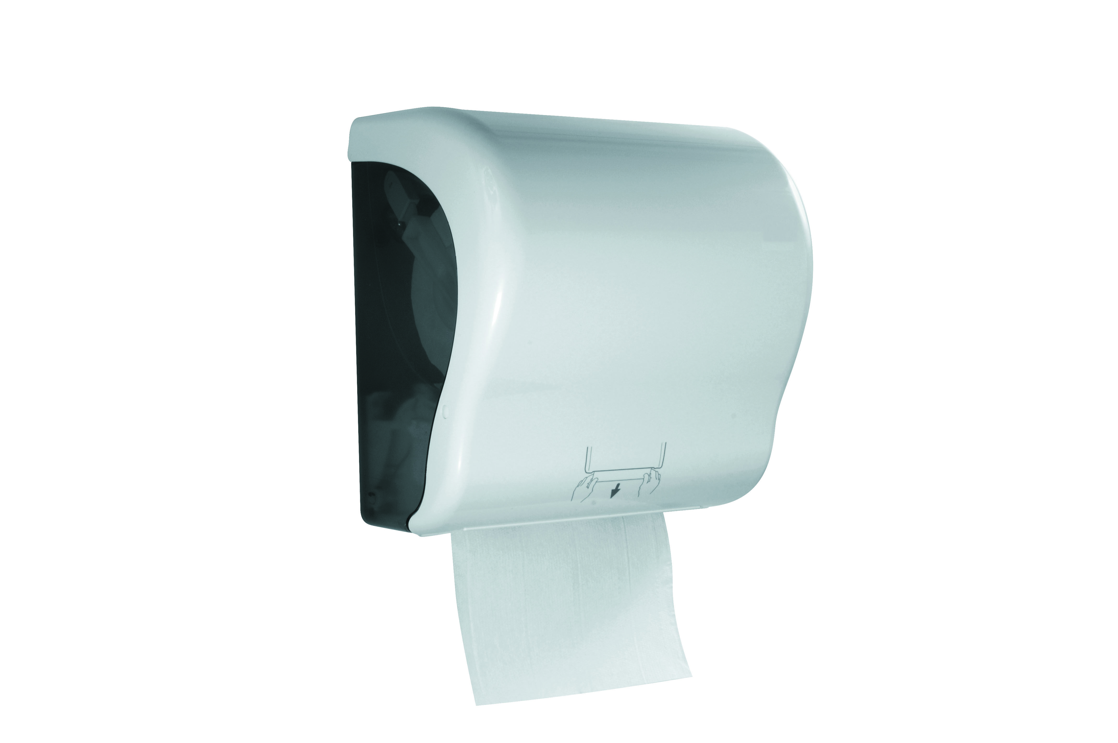 Handtuchrollenspender Rico Autocut Aussenabrollung Papier