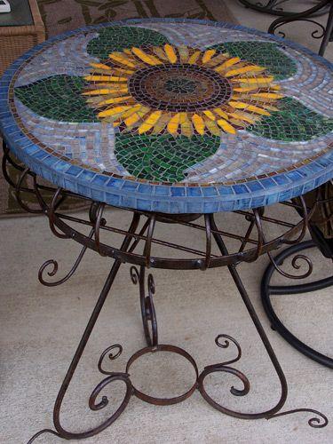 Showcase Mosaicsof Mosaic Birdbaths Tables and Sculpture