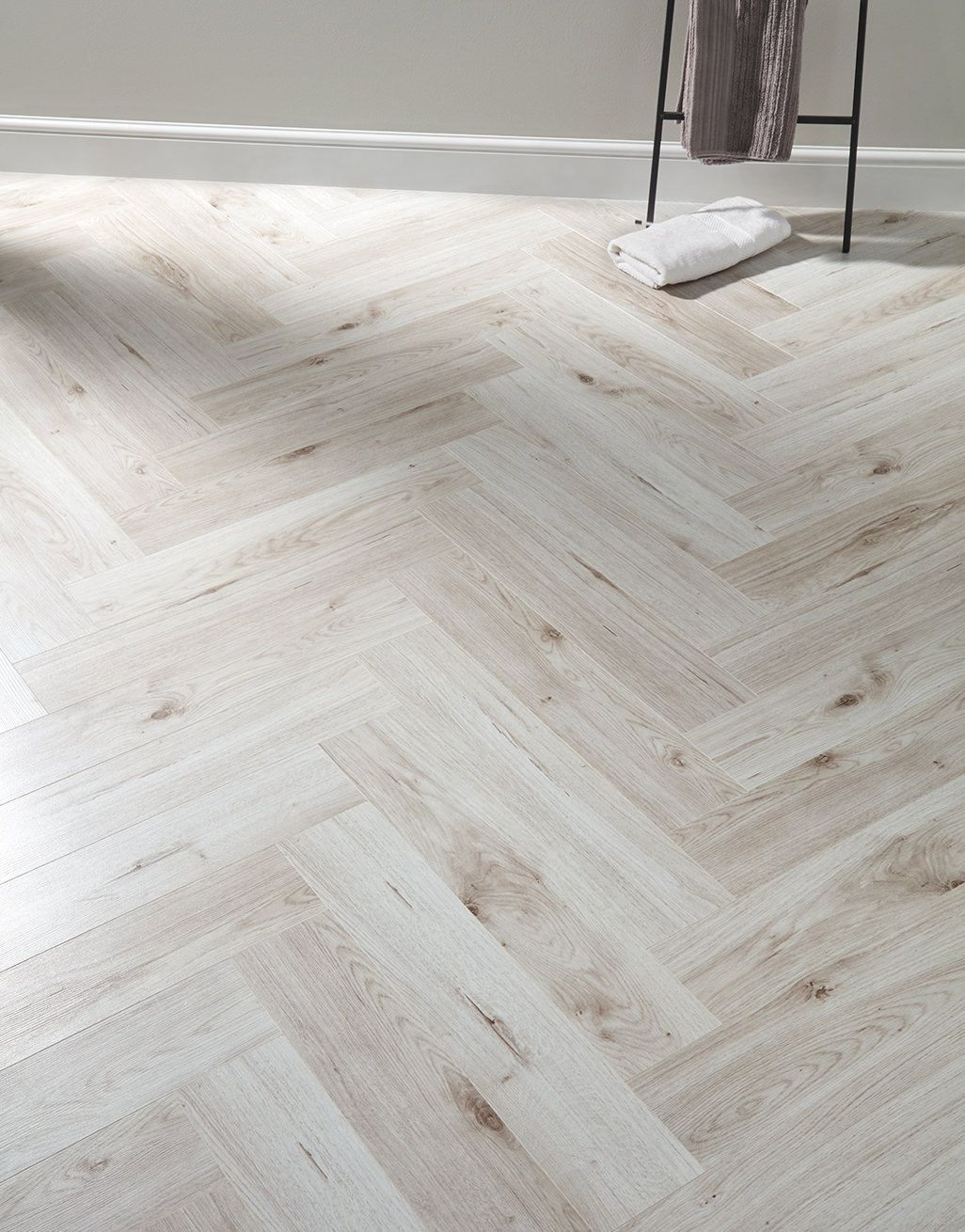 Herringbone Pearl Oak Laminate Flooring in 2020 Oak