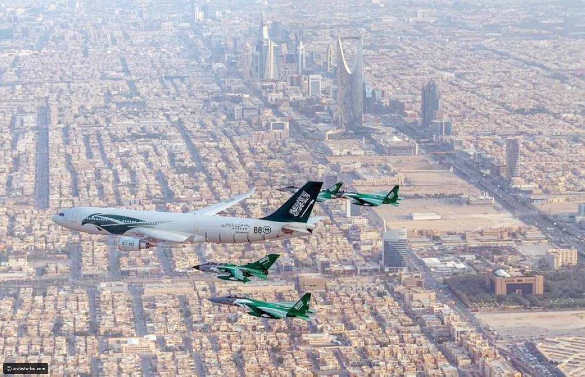 صور الصقور تستعرض وتزين سماء السعودية تيربو العرب Airplane View Scenes Views