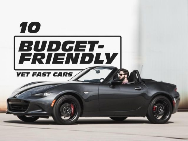 Fast And Affordable Car Seems Too Good To Be True Right But - Cheap fast sports cars