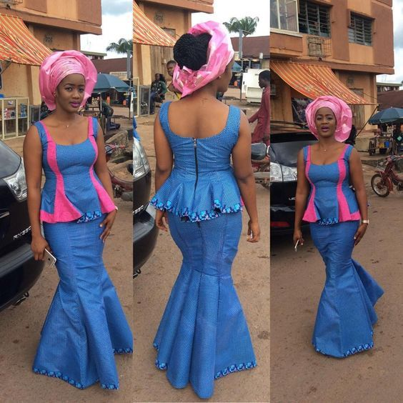 Image result for cute asoebi styles