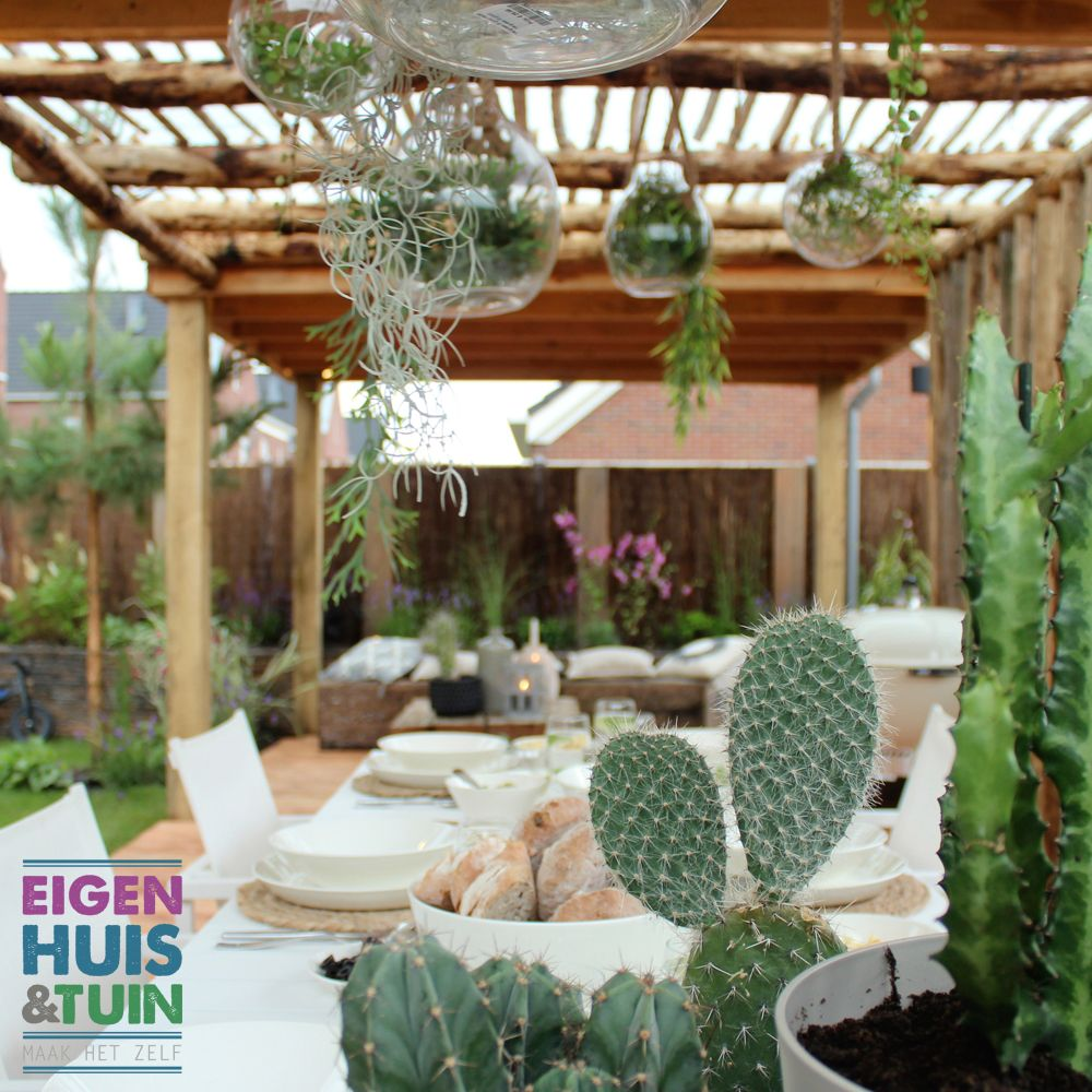 Ibizatuin In Ede Eigen Huis Tuin Aflevering 7 Tuin Pinterest