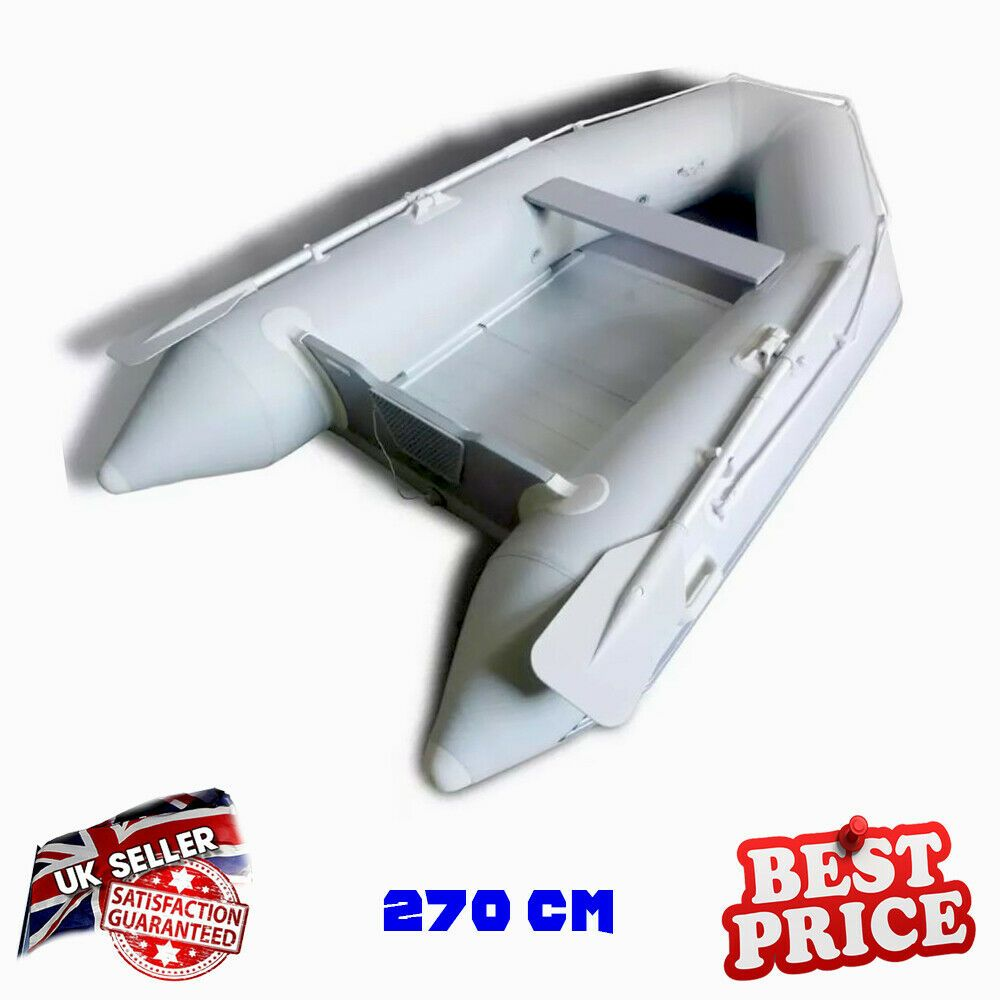 Small Boat Trailer Adjustable Car SUV Pull Rib Dinghy Carrier Steel Up To 4.6m