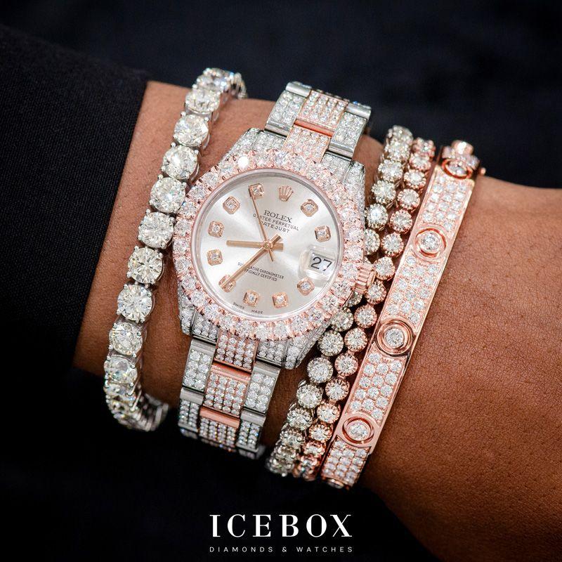 Pin By Icebox Diamonds Watches On Bracelets Luxury