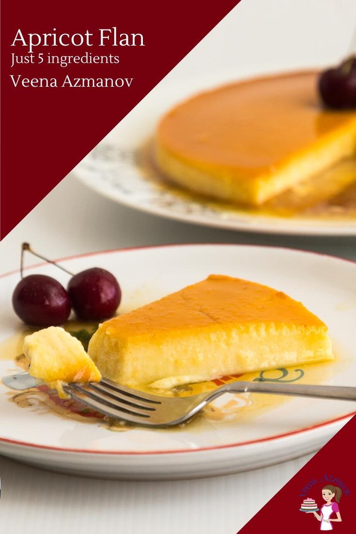 Flan From Scratch : scratch, VeenaAzmanov.Com, Recipes, Appetizers, Desserts