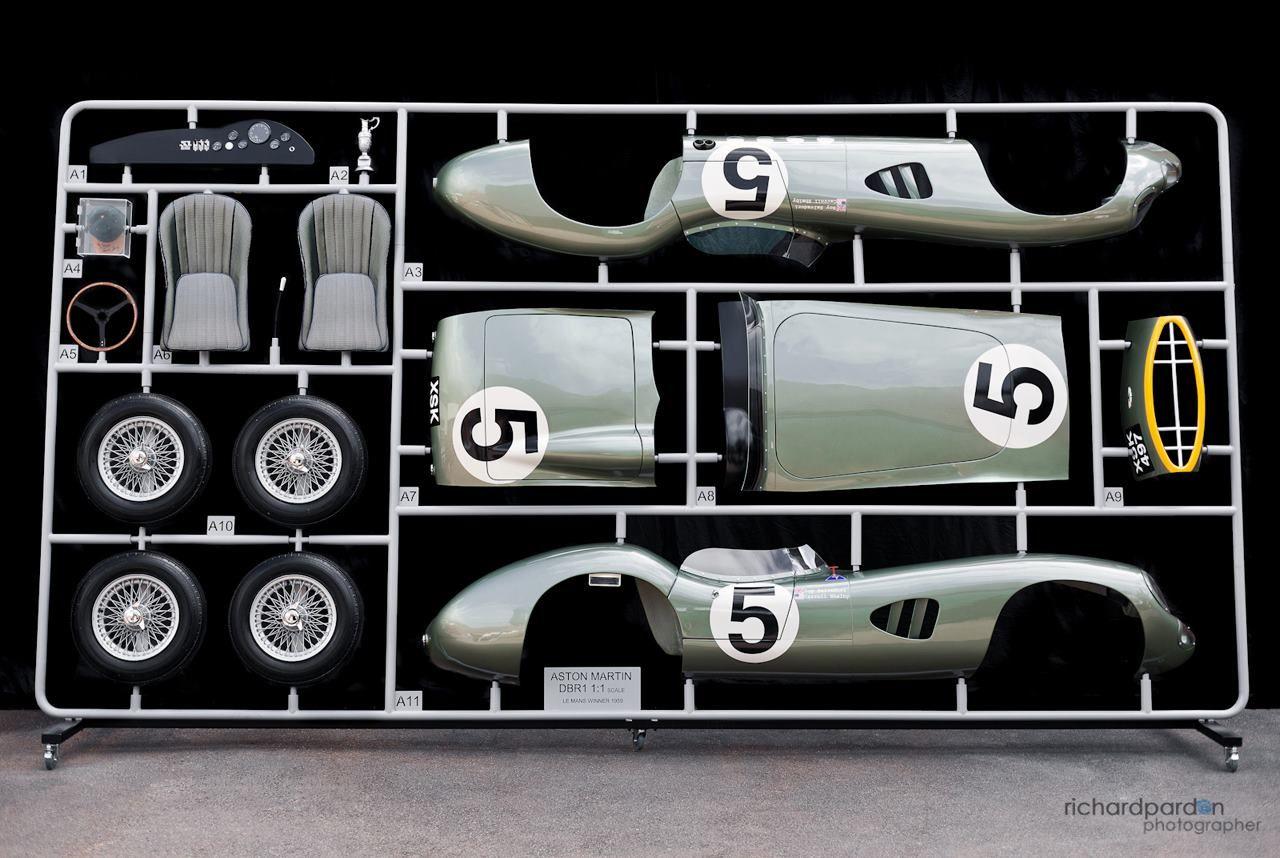 1:1 Scale Aston Martin DBR1 Model | Acclaim