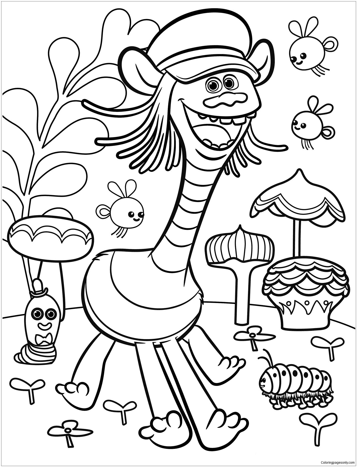 Trolls Movie 1 Coloring Page Free Coloring Pages Online Poppy Coloring Page Coloring Pages Free Coloring Pages