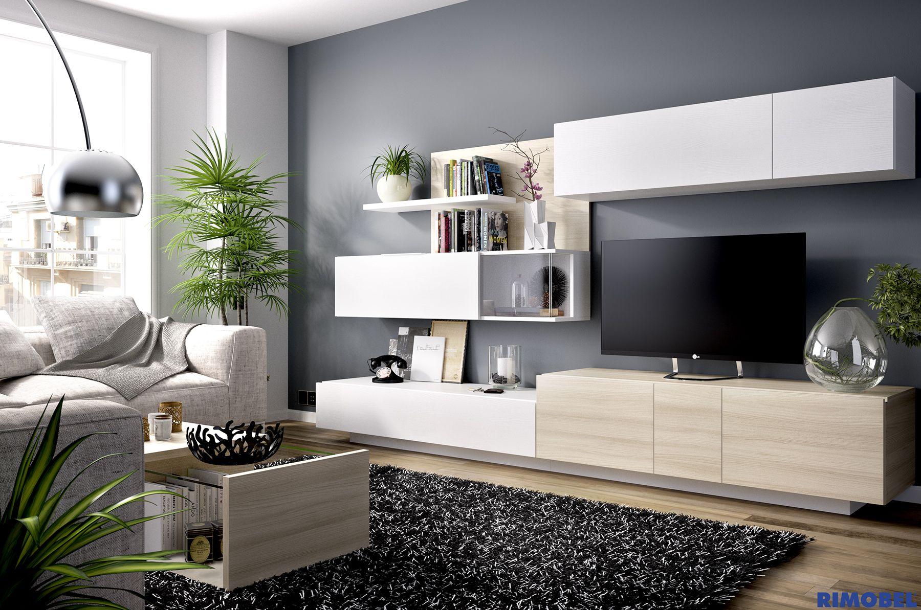 F_78 Salones diseñados para la vida real. http://rimobel.es/index ...