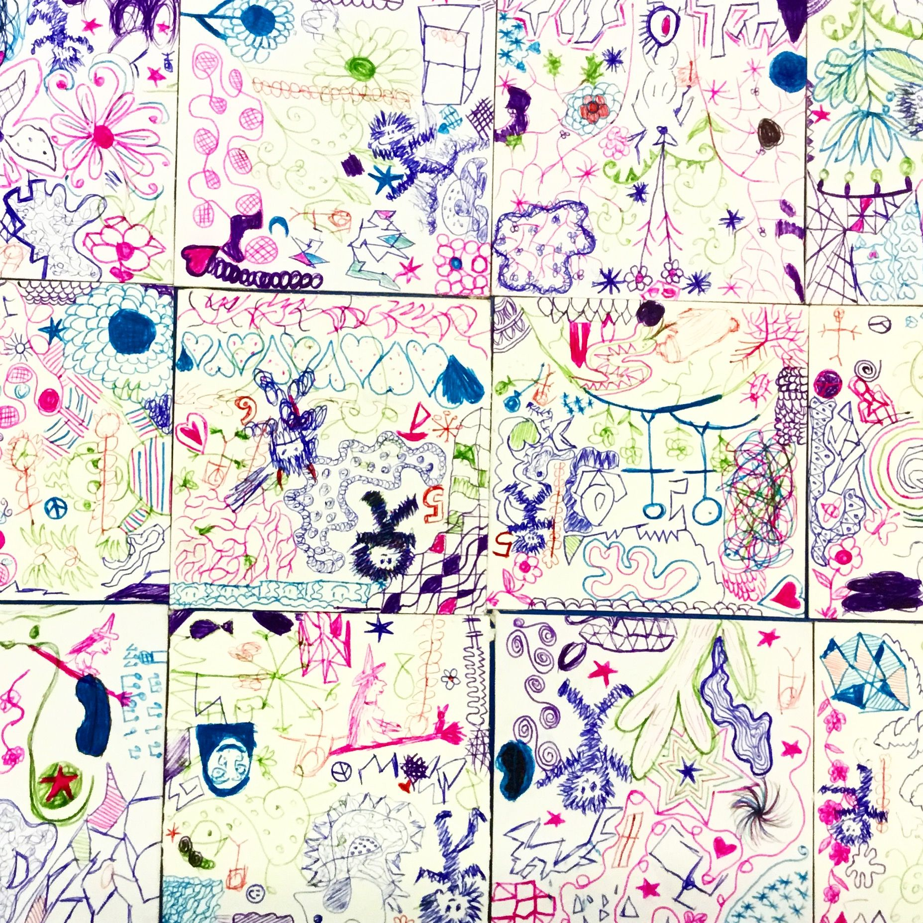 Young Carers Artwork Shared Artwork Doodles