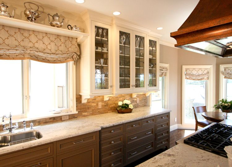 Kitchen Two Toned Kitchen Cabinets Doors Awesome If You Choose Two With  Regard To . Fabulous White And Walnut Two Tone Kitchen Cabinets Design  Inspirations