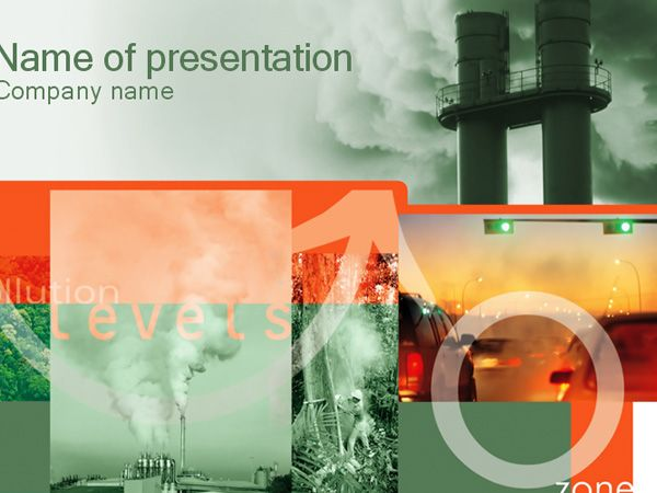 Environmental Pollution Chemical Ppt Template Download Powerpoint