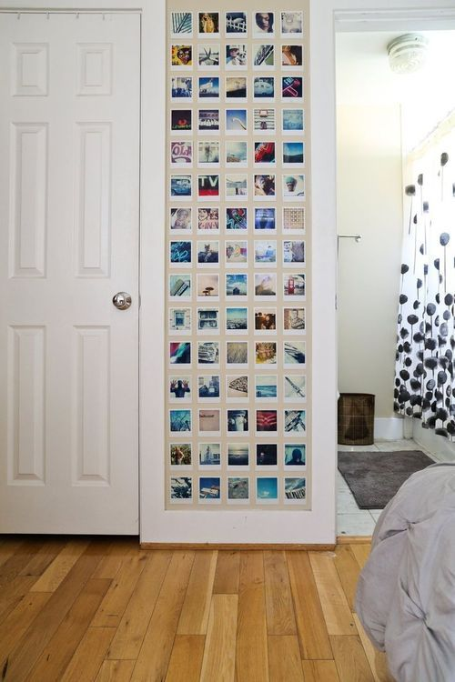 6 Ideias para Decorar com Fotos   Want  Polaroid   Pinterest ... 54786c34eb