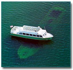 Sunken Ship Boat Tour Mi