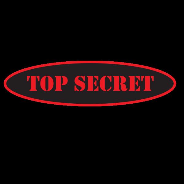 Top Secret Sticker Secret Sticker Download Stickers