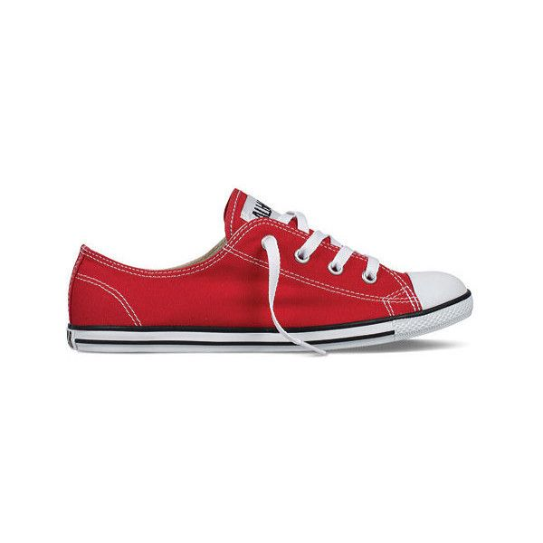 3885dfa63414 Women s Converse Chuck Taylor All Star Dainty Ox ( 50) ❤ liked on Polyvore  featuring shoes