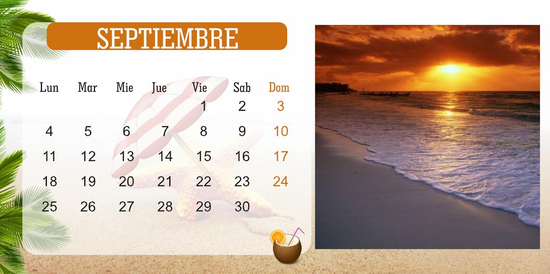 Espaciohonduras kilotapias dise o de calendario estilo - Disenos de calendarios ...