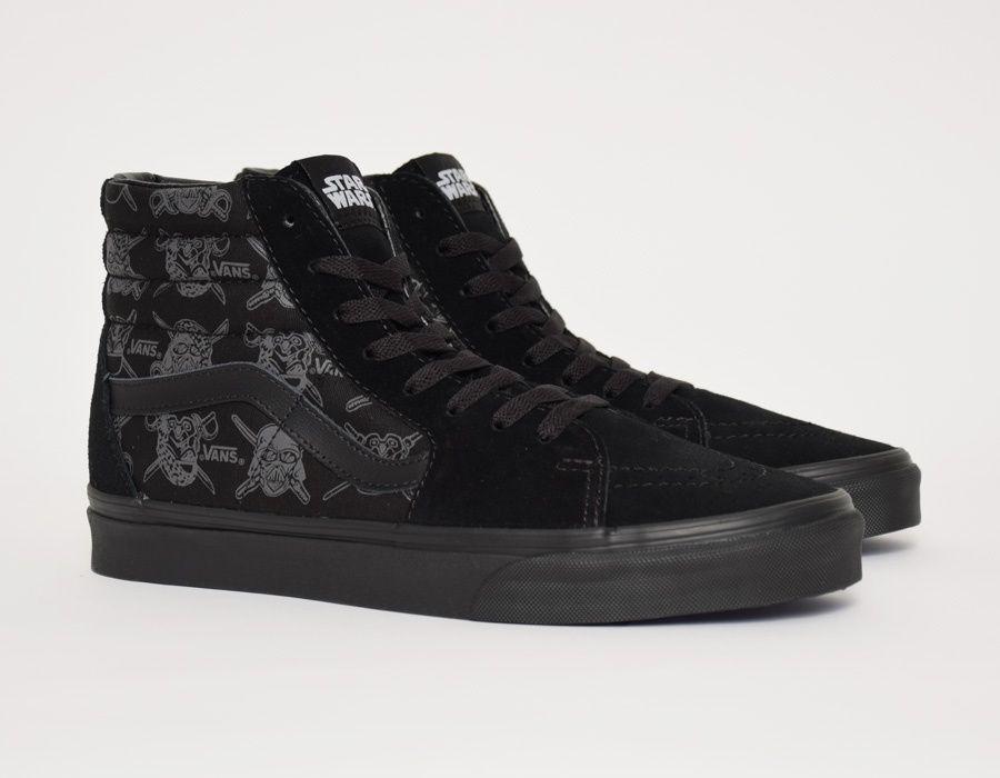 8050da91ff143e Vans Sk8-Hi Star Wars Dark Side Darth Storm  sneakers