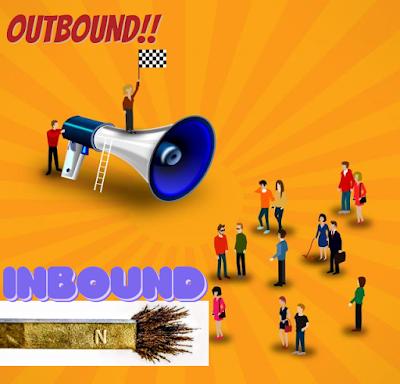 OUTBOUND VERSUS INBOUND MARKETING Outbound marketing