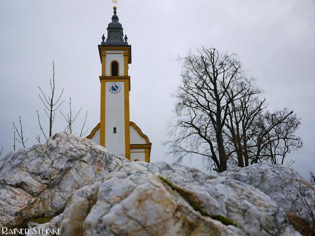 Pleystein und die Kirche auf dem Rosenquarz #Bavaria #Germany