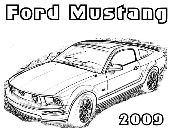 Fox Body Mustang Coloring Page Designs Trend