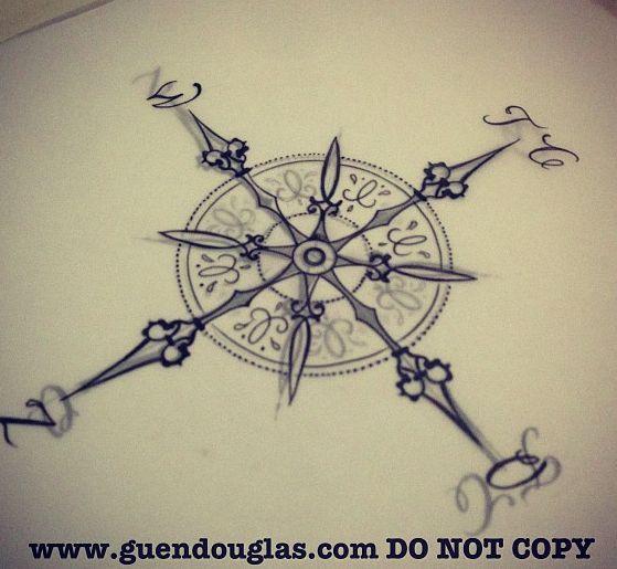 698304c50074534ef2b91d4c2f5a5e1d Jpg 559 515 Pixeles Compass Tattoo Compass Rose Tattoo Tattoos