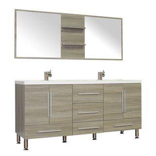 Alya Bath Ripley Collection 67 Inch Double Modern Bathroom