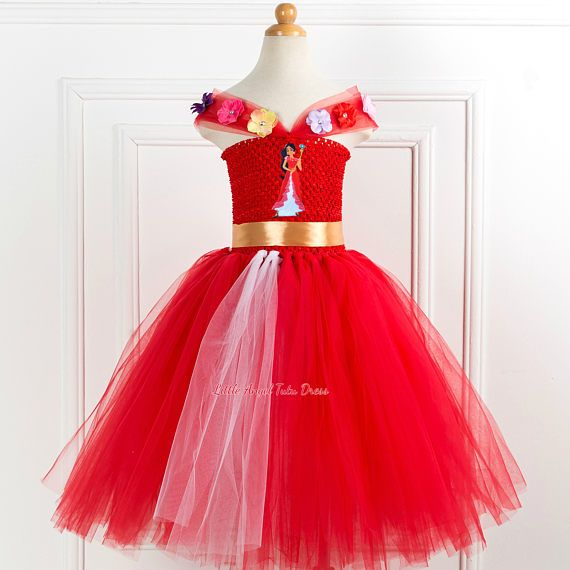 ea5fb64db6e4d Elena of Avalor Tutu Dress - Elena of Avalor Fancy Dress - Handmade ...