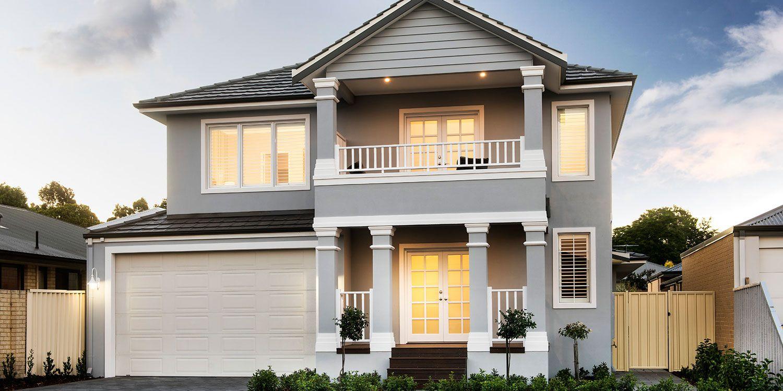 princeton hampton double storey home design western australia - Hampton Home Designs