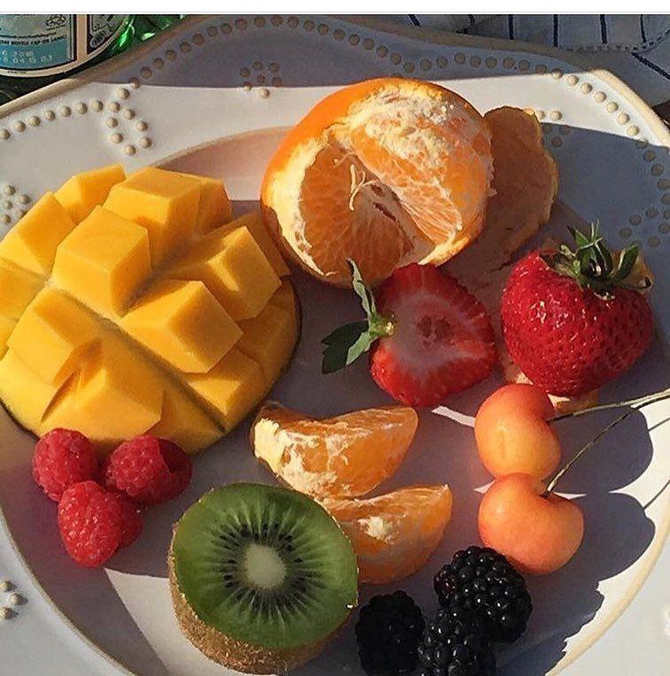 Полная фруктовая диета