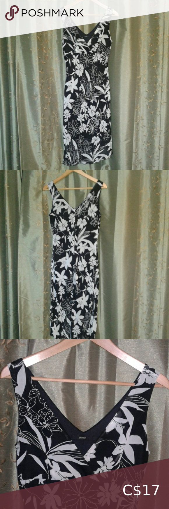 Poet Black And White Dress In 2020 With Images Fashion Clothes Design Colorful Dresses [ 1740 x 580 Pixel ]