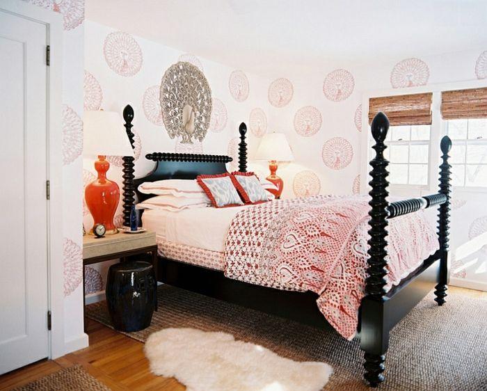 Schlafzimmer Design modern tapette decke Schlafzimmer Ideen