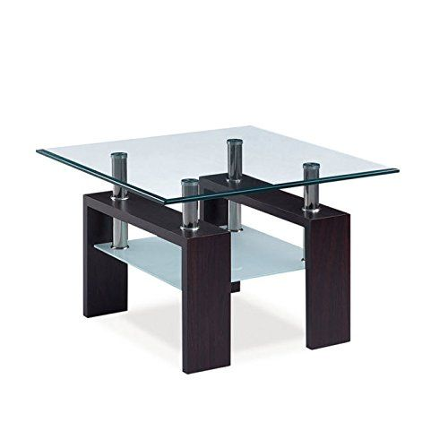 Global Furniture Clear Frosted Occasional End Table With Https Www Amazon Com Dp B00b0u5ij2 Ref Cm Global Furniture Usa Furniture Contemporary End Tables