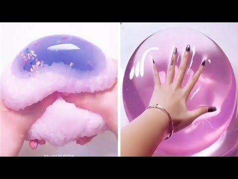 The Most Satisfying Crunchy Slime ASMR Videos 2019