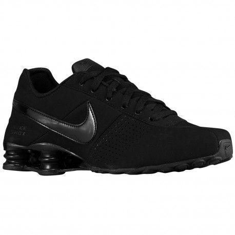 Nike Shox Black Leather