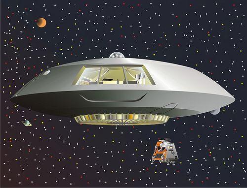 a spaceship landing on jupiter - photo #14