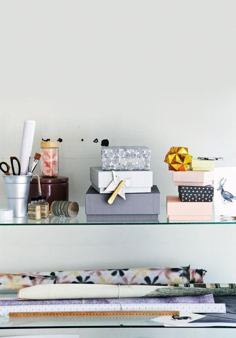 DIY: Smukke æsker til opbevaring - Boligliv