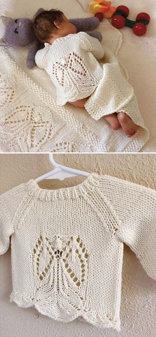 Photo of Angels Around Me Sweater – Knitting Pattern